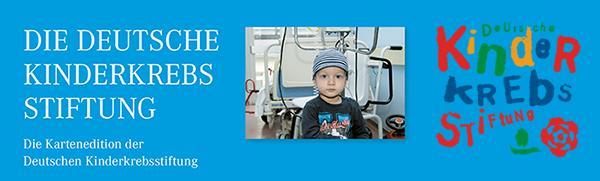 Weihnachtskarten zugunsten der Deutschen Kinderkrebsstiftung